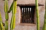 San juan Capistrano mission window