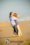 engagement photos, huntington beach