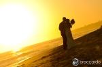 surf and sand wedding photos