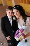 Bride and step son