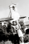 engagement bell tower, mission san juan capistrano