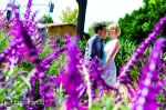 lavender engagement photos, mission san juan capistrano