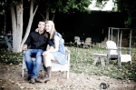 trailer park engagement photo, LOL