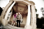 amphitheater engagement photos