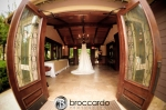 wedding dress at arroyo trabuco