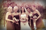 bridal party photos, arroyo trabuco