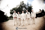 arroyo trabuco wedding photos, groomsmen