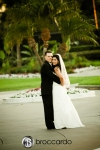 bride and groom, seacliff country club