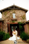 bride and groom at arroyo trabuco photos