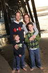pier family photos, san clemente