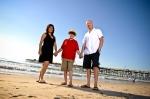 san clemente Pier, Family portraits