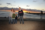 san clemente Pier, Family photos