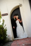 bride and groom at ole hanson beach club