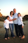 beach family portraits, orange county