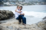 laguna beach engagement photo
