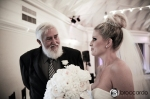 Bride and father, san clemente casino