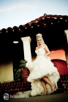 fun bridal shot, san clemente casino