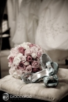 flowers and shoes with wedding dress, lynne lucente floral design