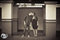 Santa Ana Train Station engagement photos 0003