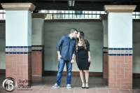 Santa Ana Train Station engagement photos 0004