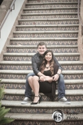Santa Ana Train Station engagement photos 0008