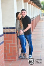 Santa Ana Train Station engagement photos 0013
